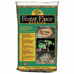 Zoo Med Reptile Forest Floor Bedding Cypress Mulch Snake