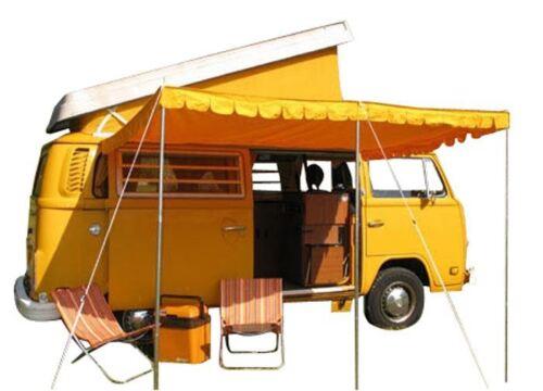 arancione 2m x 2.4m Bay t2 Cotone t2 Divisione Type 2 SPLIT Sole Tettuccio t25