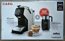AEG Lavazza A Modo Mi Espria Coffee Pod Machine LIMITED EDITION Inc Milk Frother