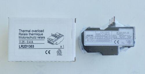 Relais thermique 0,25 à 0,4 ampère garantie 3 ans LR2D 1303