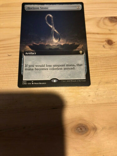 Horizon Stone Extended Art x1 Commander Legends Pack Fresh NM//M Ships Now!