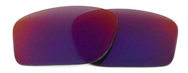 Intellective Nuovo Polarizzato Rosso Chiaro Lente Di Ricambio Per Ray Divieto Tech 8308 59mm