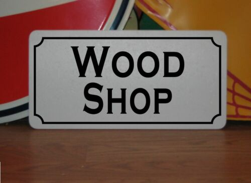 WOOD SHOP Metal Sign 4 Costume Cosplay Girls Clubware S/&M Prop Prison TV Film