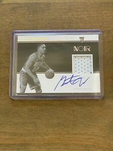 2020-PANINI-NOIR-GRANT-WILLIAMS-ROOKIE-PATCH-AUTO-SP-99-BOSTON-CELTICS