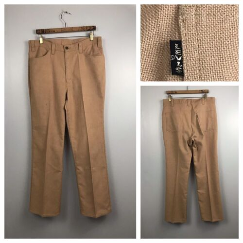 1960s Big E Levis Sta Prest Pants Jeans / 60s Mod