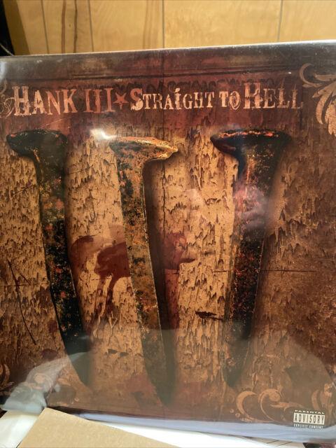 HANK III-VINYL-STRAIGHT TO HELL/ EXCELLENT COPY-NM