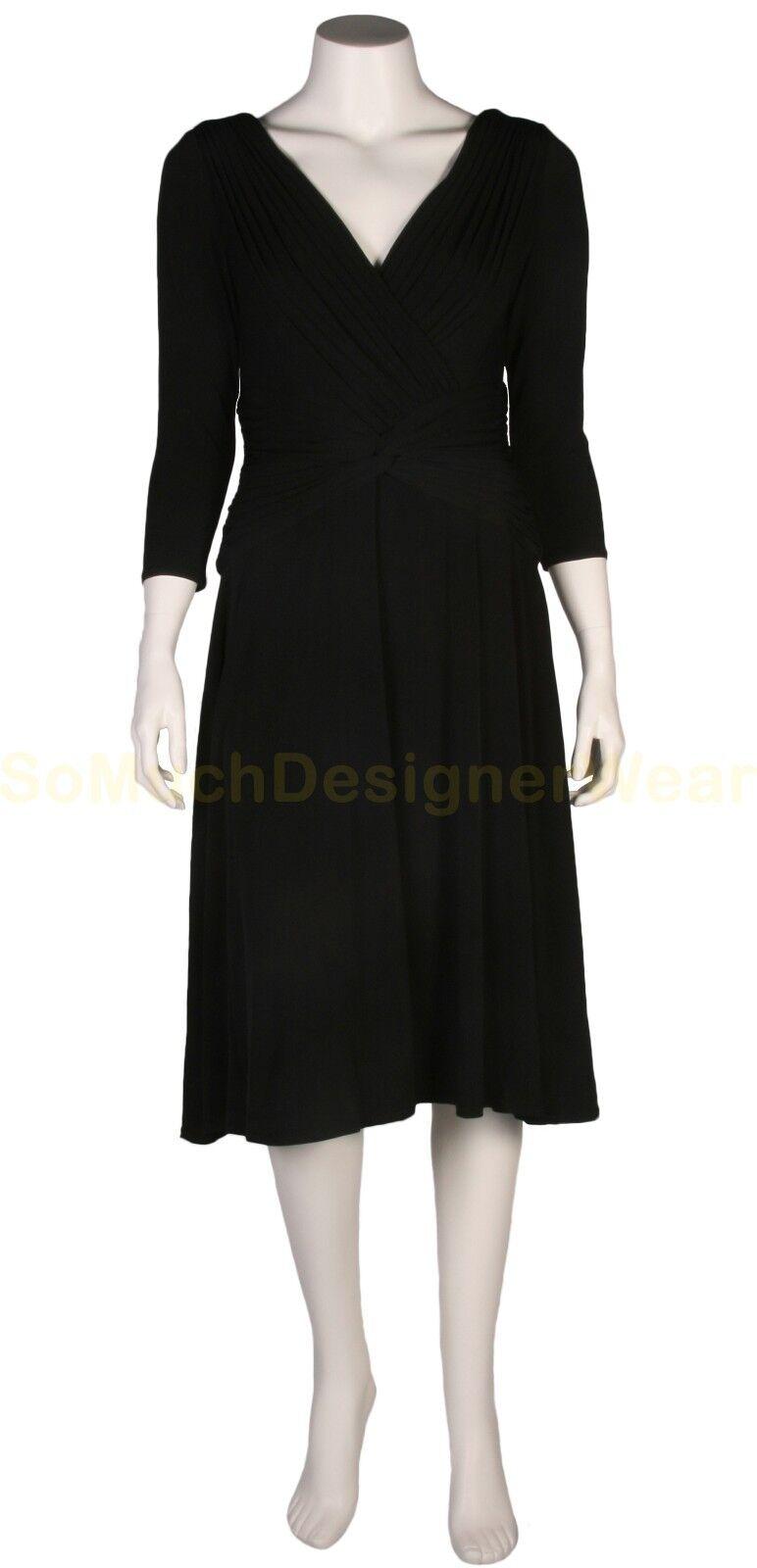 TADASHI jurk XS zwart NIEUW+LABELS ap €250