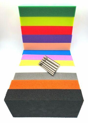 Gunville HD Schiuma Blocchi - Scelta di Colori - Esche Artificiali Materiali -