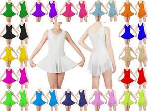 PAPAVAL KSL Kids Girls Stirrup Leggings Shiny Nylon//Lycra Ballet Gymnastics