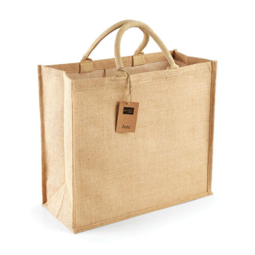 Jumbo Jute Hessian Reusable Eco Friendly Tote Shopper Grocery Shopping Bag