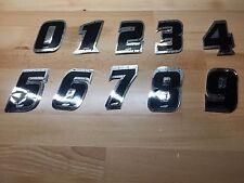"NOS ATI BMX Bike Bicycle MotoCross Number Plate Numbers Number 5 Black 4"""