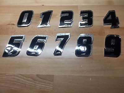 """ATI BMX Bike Bicycle MotoCross Number 5 Black 4/"""""""