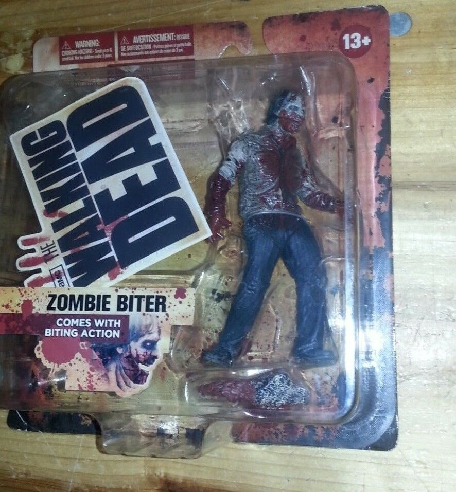 THE WALKING DEAD ZOMBIE BITER series 1 one - McFARLANE toys - AMC - AF1