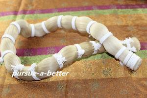 250 g high quality White Mongolian Horse Hair in bulk Violin Bow hair 100 cm