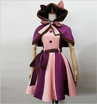 Alice in Wonderland The Cheshire Cat Alice Returns Cosplay Costume