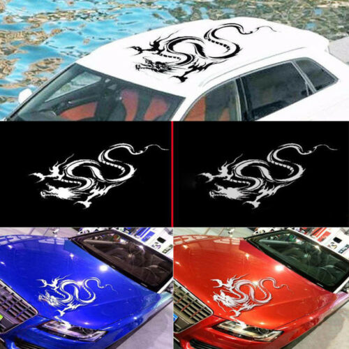 Car Hood Body Dragon Graphic Siticker Modified Decal Racing Sports Style Vinyl