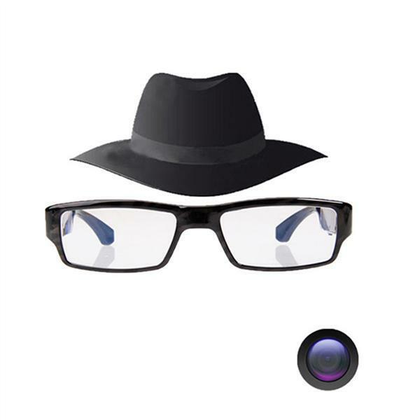 Upgraded Version Super Small Surveillance Spy Camera,Video Loop Recording,Snapshot,Mini Digital Camera,USB Charger FHD Hidden Camera Eyeglasses