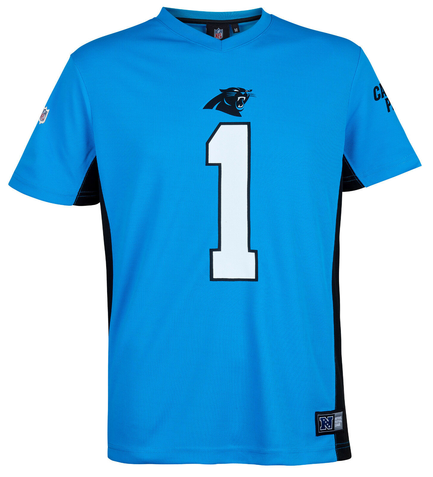 NFL Carolina Panthers Cam Newton 1 1 1 Trikot Jersey Shirt Polymesh 2018 Football f1908f