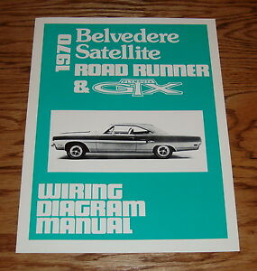 1970 plymouth belvedere satellite road runner & gtx wiring ... 1966 plymouth belvedere wiring diagram