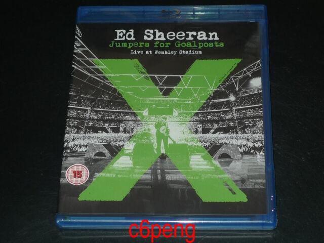 Ed Sheeran Jumpers for Goalposts Live at Wembley Stadium (Blu-ray Disc, 2015)Hot