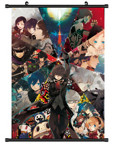 Shin Megami Tensei Persona Panther Anime Poster manga wall Scroll 40*60cm