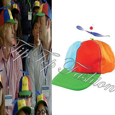 New Helicopter Hat Cap  Rainbow Tweedle Dee Dum Pride Fancy Dress Nerd Geek