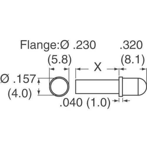 """.061/"""" Diameter Solid Carbide Drill 1//8/"""" Shank Kyocera #105-0610.400 1.55mm"""
