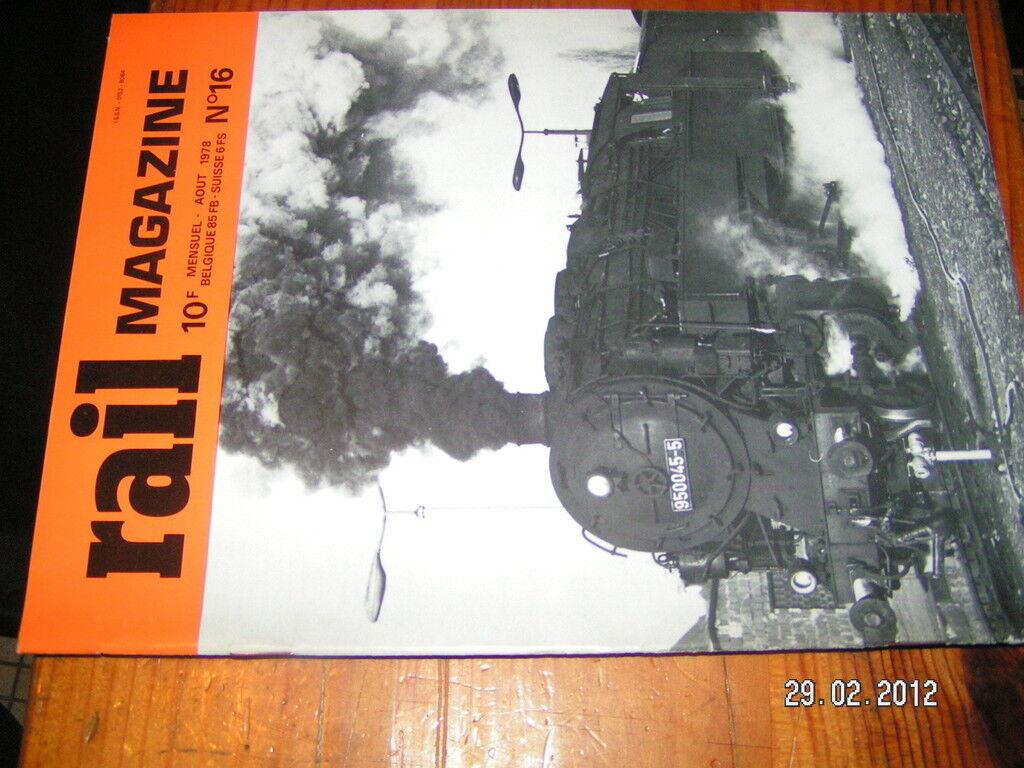 Rail Magazine n°16 232 Q1 3566 P.O Moteur Hyperbar
