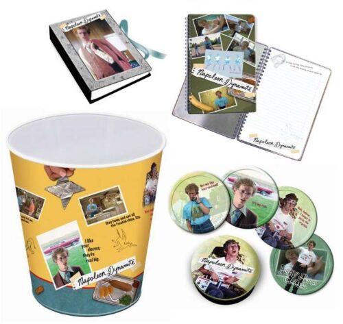 Coasters,Trash Can Napoleon Dynamite 4 pc Set 2 books