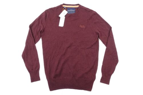 Co Prunelle Rouge Du Pull Ras Knitwear Baie Premium Grand Cou The Superdry 6Hqw1nt