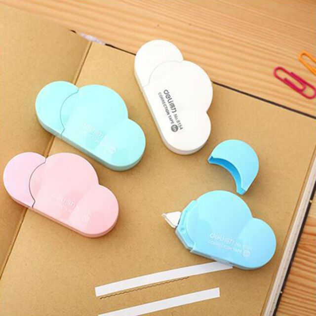 Cute White Correction Tape Decorative Stationery School Office Supplies