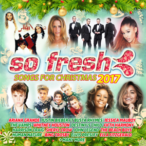 Fifth Harmony All I Want For Christmas Is You.Details About So Fresh Songs For Christmas 2017 Ariana Grande Justin Bieber Unsealed C270