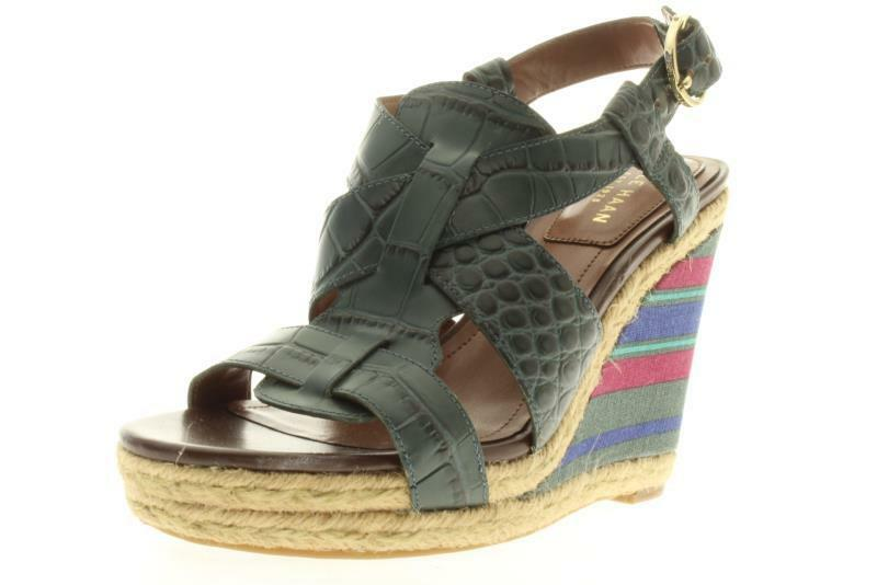 Womens Cole Haan  W02347 Multi Color Wedge Sandals 6 M..210A