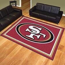 San Francisco 49ers 8' X 10' Decorative Ultra Plush Carpet Area Rug