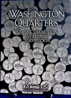 He Harris Washington State Quarter Collection Vol 2 2004-2008 Coin Folder