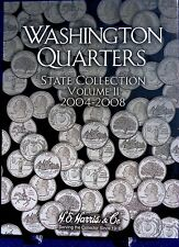 Washington Quarters State Collection Vol 2 2004-2008 Harris Coin Folder # 2581