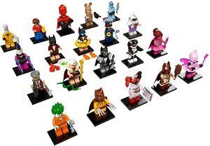 Lego Minifigures Batman Series 1 Jeu Complet De 20 Figures 71017 Scellé Paquets-afficher Le Titre D'origine