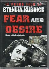 dvd FEAR AND DESIRE Stanley KUBRICK Edizione originale sottotitolata