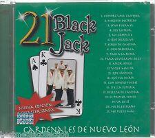 Cardenales De Nuevo Leon CD NEW 21 Black Jack ALBUM 21 Grandes Exitos SEALED