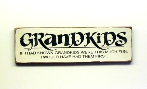 Gift for Mothers Day,Grammy and Grampa decor Wooden Grandparent Sign