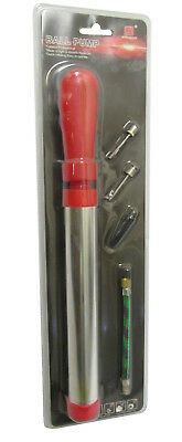 Ehrlichkeit Ball Air Pump With Hose Needle And Nozzle Red Handle With Aluminium Tube 100% Hochwertige Materialien