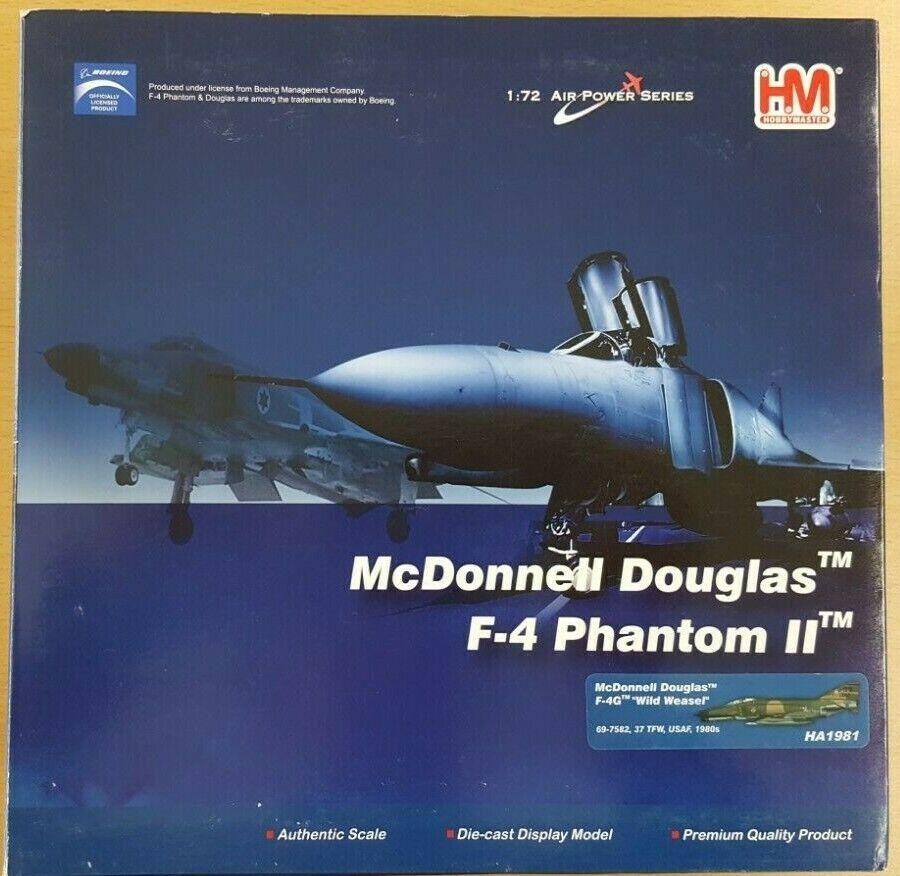 Hobby Master 1 72 HA1981 McDonnell Douglas F-4G Wild Weasel Air Force Estados Unidos