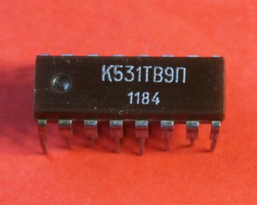 Microchip USSR  Lot of 1 pcs K531TV9P = SN74S112N SN74S175 IC