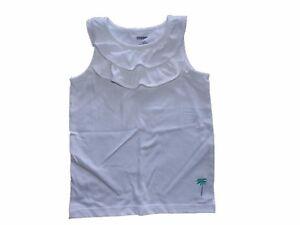 NWT-Girl-039-s-Gymboree-Hop-n-039-Roll-white-tank-top-palm-tree-shirt-8-FREE-SHIPPING