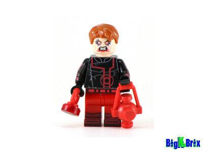 SUPERGIRL RED LANTERN Custom Printed on Lego Minifigure!