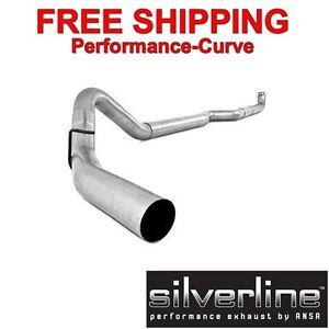 Silverline Diesel Exhaust System Fits 01 07 Duramax 4