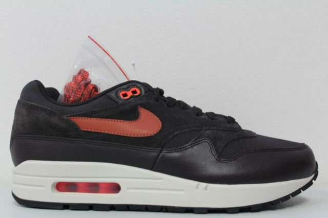Nike Mens Air Max 1 Premium Size 10 Velvet Brown Dusty Peach 875844 202