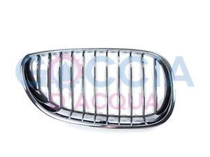 Genuine-BMW-5-039-Series-E60-amp-LCI-E61-amp-LCI-Chrome-Kidney-Grille-Right-O-S