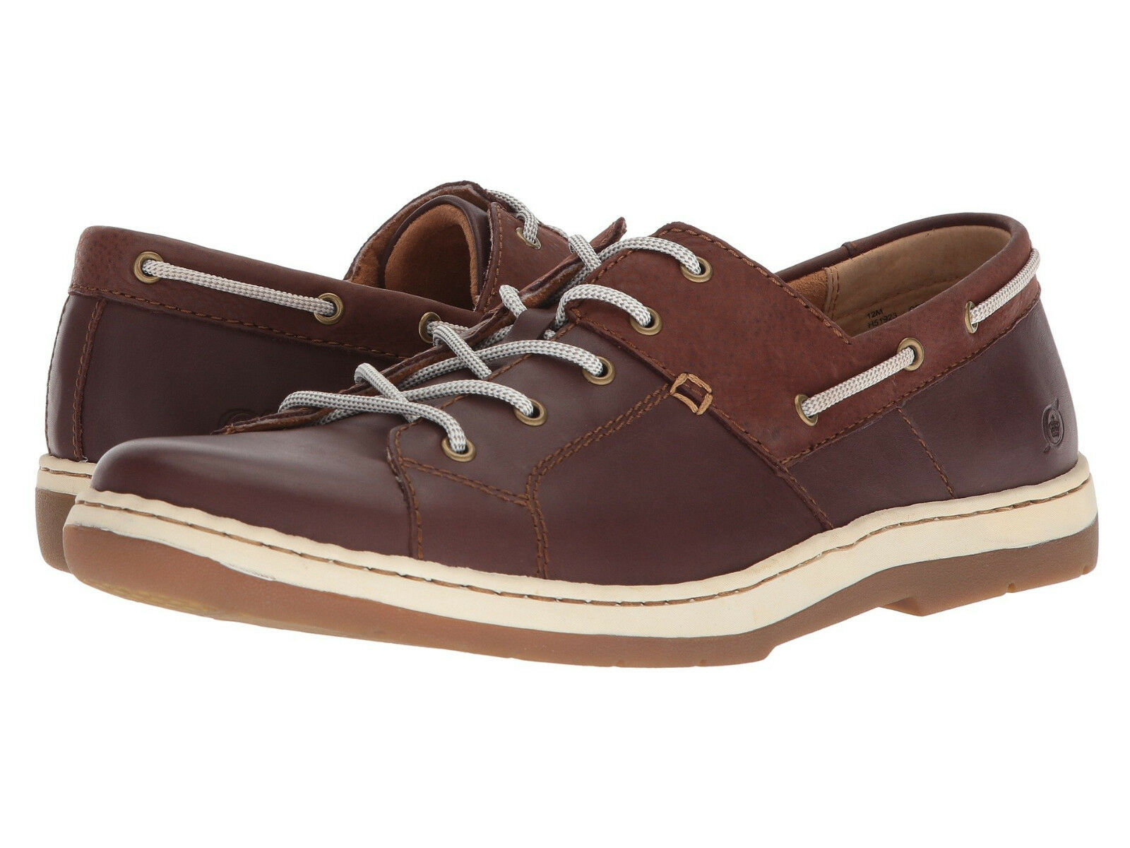 Born Mens Marius Lace-Up  Nautical Boat Casual Sneakers shoes Opanka Kicks