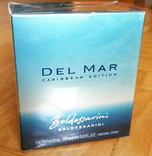 Baldessarini Del Mar Caribbean Eau de Toilette EDT 90ml / NEW/ SEALED